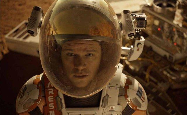"""Image: Matt Damon in """"The Martian"""""""