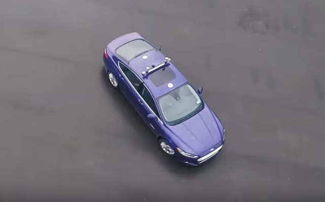 Autonomous Ford Focus