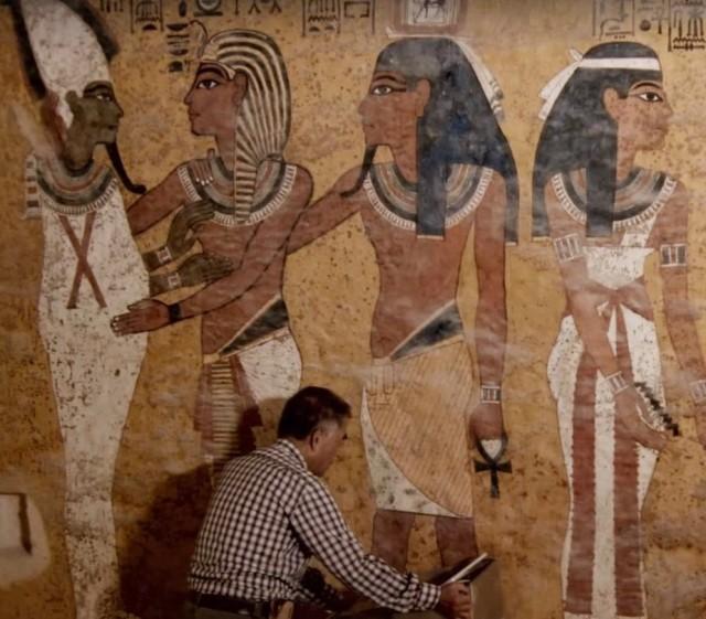 Image: Tut's tomb scanned