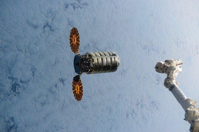Image: Cygnus spaceship