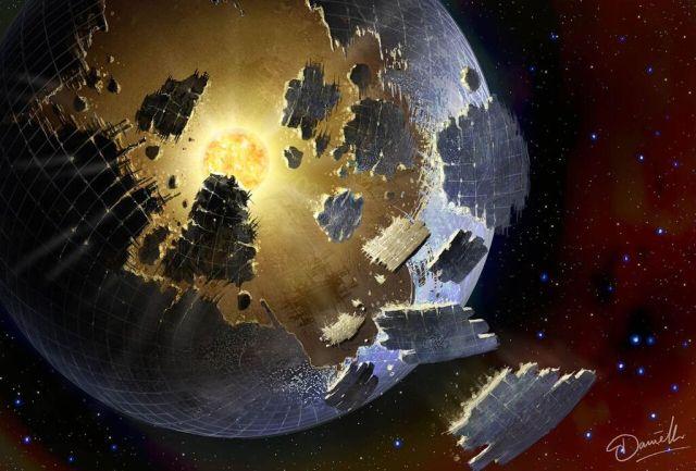 Image: Alien megastructure