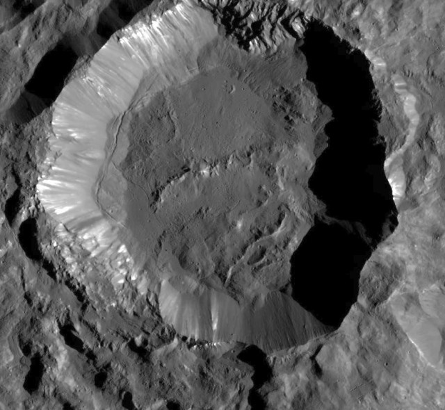 Image: Kupalo Crater on Ceres