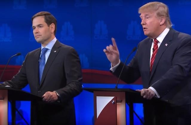 Image: Rubio and Trump