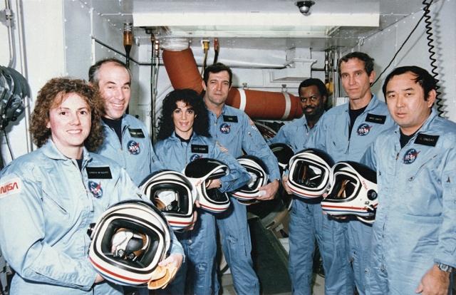 Image: Challenger crew