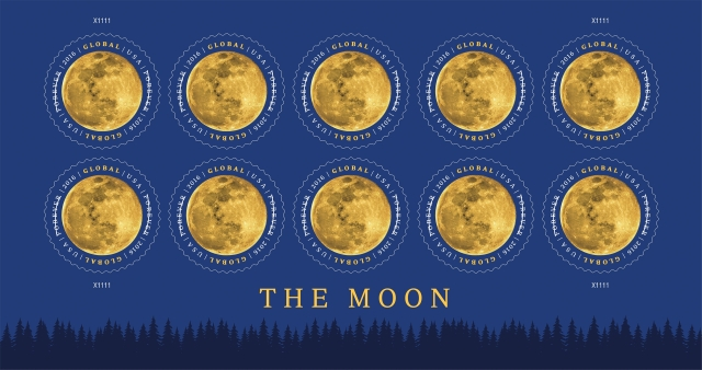 Image: Moon stamps