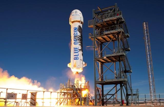 Image: Blue Origin blastoff