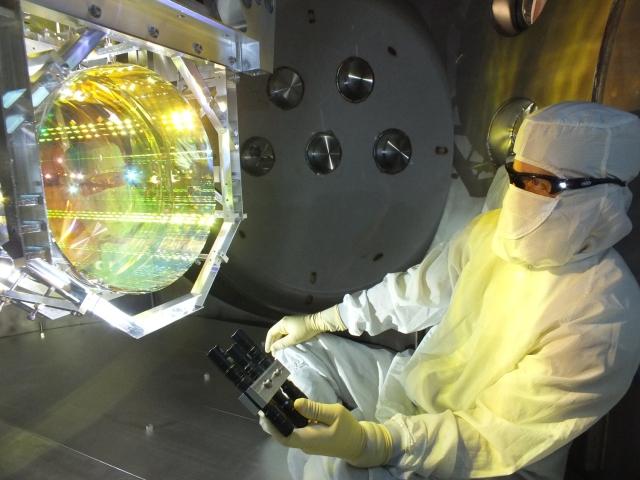 Image: LIGO optics