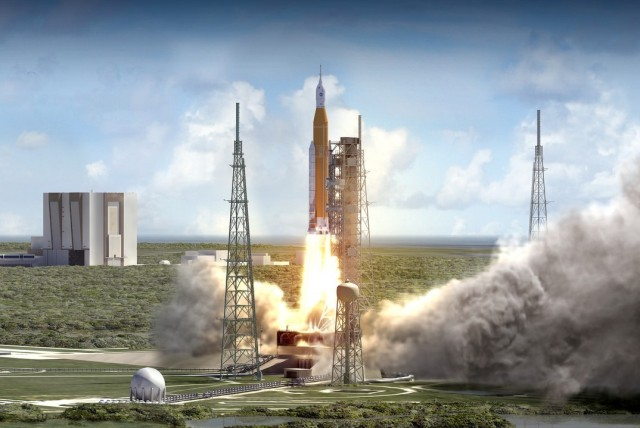 Image: SLS launch