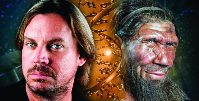 Image: Human and Neanderthal