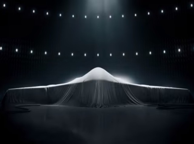 Image: Shrouded airplane