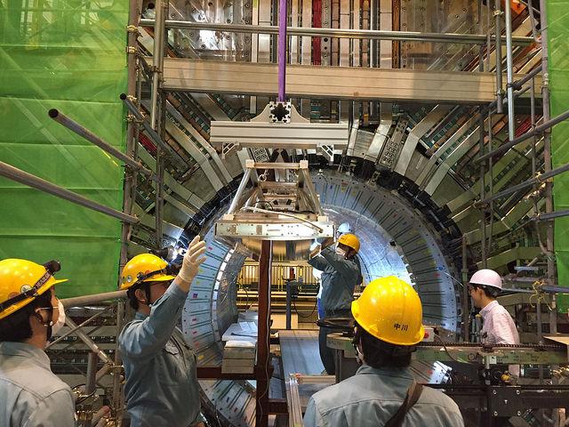 Image: Belle II detector