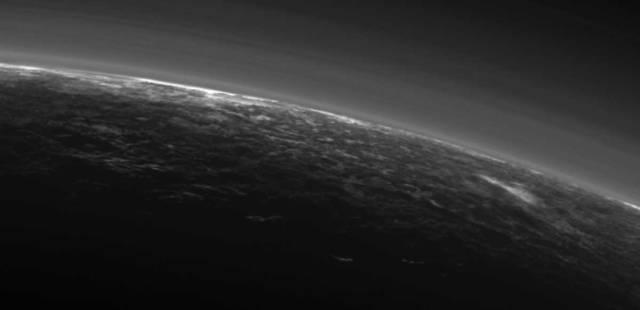Image: Pluto's limb