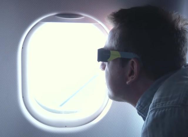 Image: Eclipse passenger