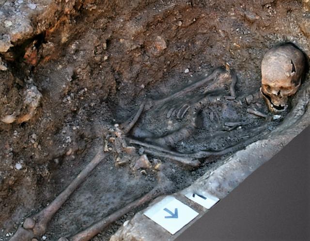 Image: King Richard III's grave