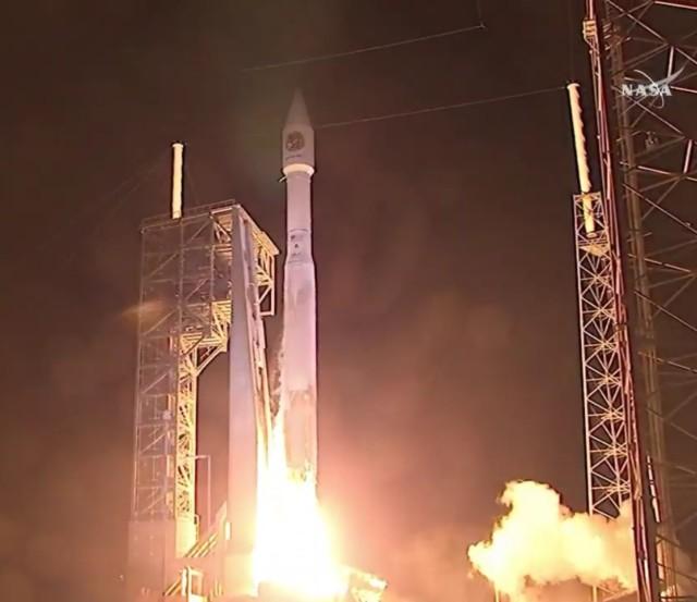 Image: Atlas launch with Cygnus