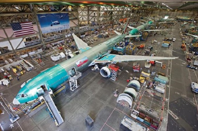 Image: Boeing 777 assembly