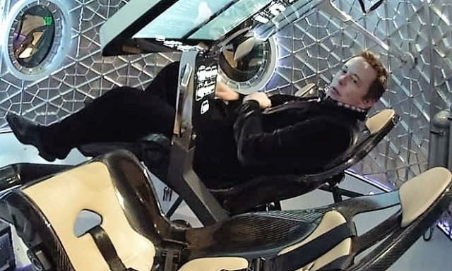 Image: Musk in Dragon