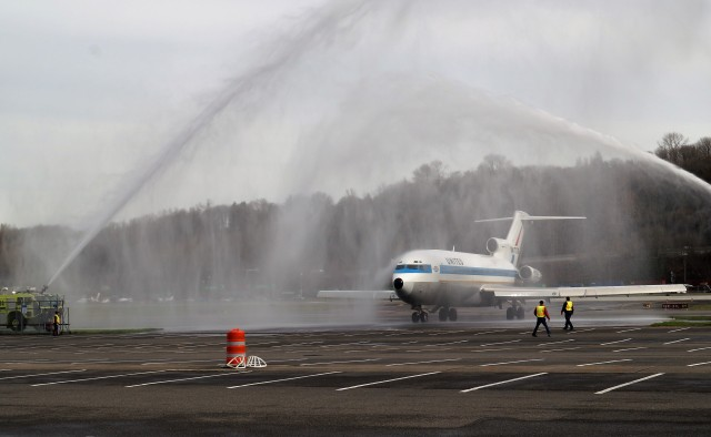 Image: 727 arrival