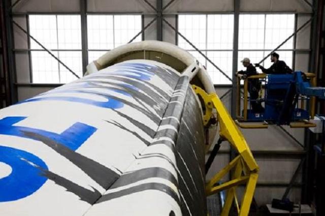 Image: New Shepard preparations
