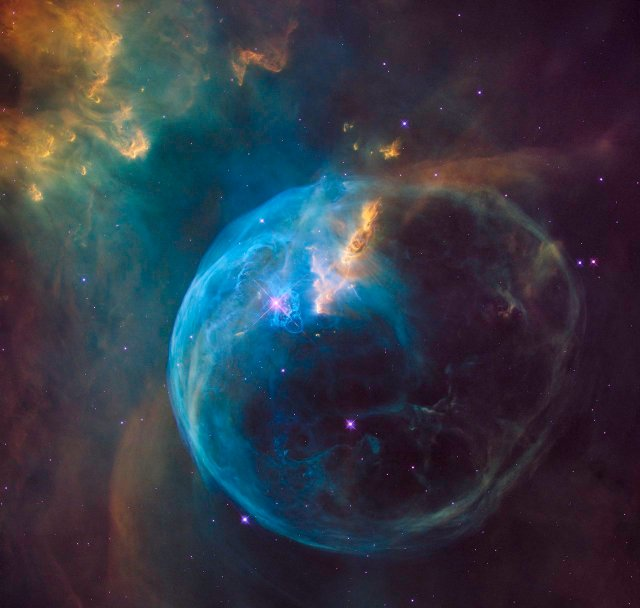 Image: Bubble Nebula