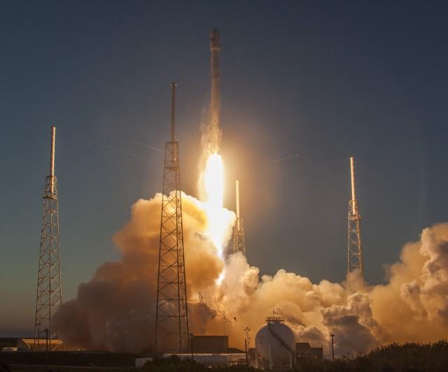 Image: DSCOVR launch