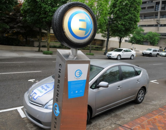 Image: Electric charging station