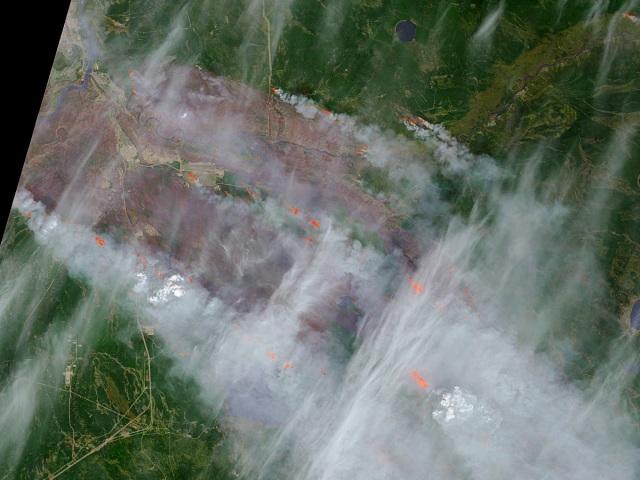 Image: Alberta wildfires