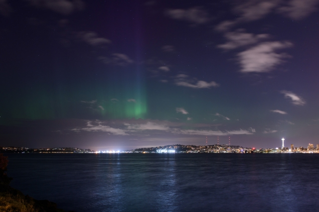 Image: Seattle aurora