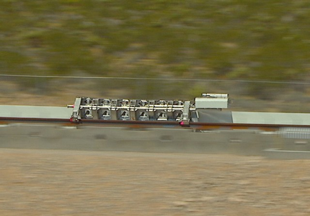 Image: Hyperloop One sled