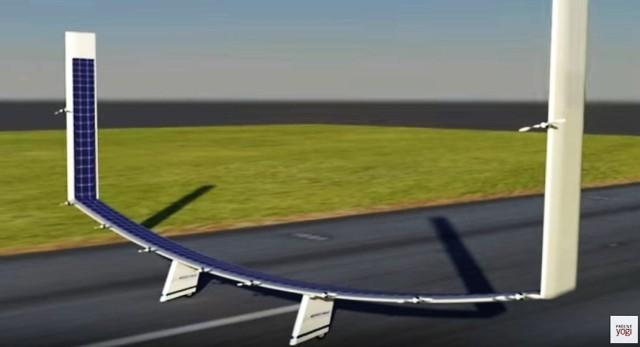 Image: Boeing solar plane