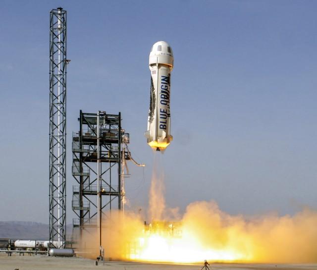 Image: Blue Origin launch