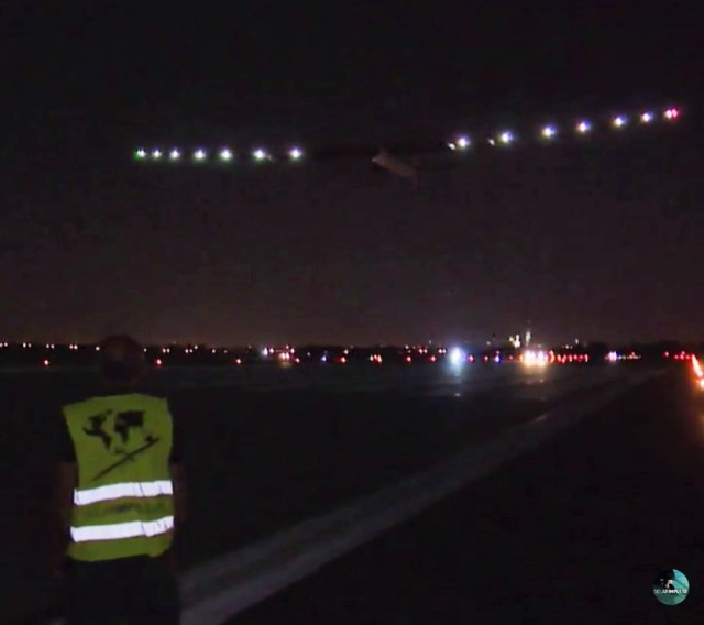 Image: Solar Impulse takeoff