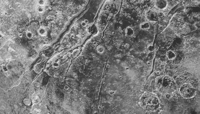 Image: Pluto faults