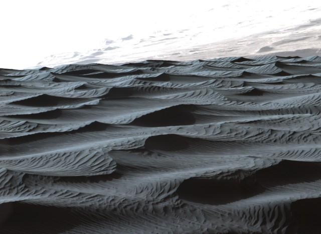 Image: Mars sand ripples