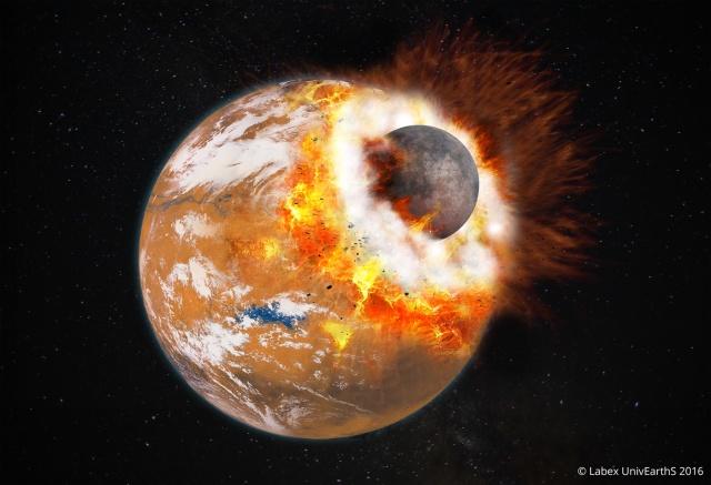 Image: Mars smash-up