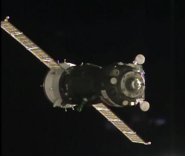 Image: Soyuz docking