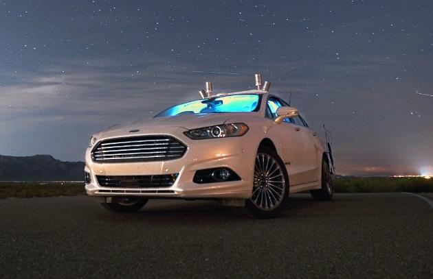 Image: Ford Fusion Hybrid autonomous car