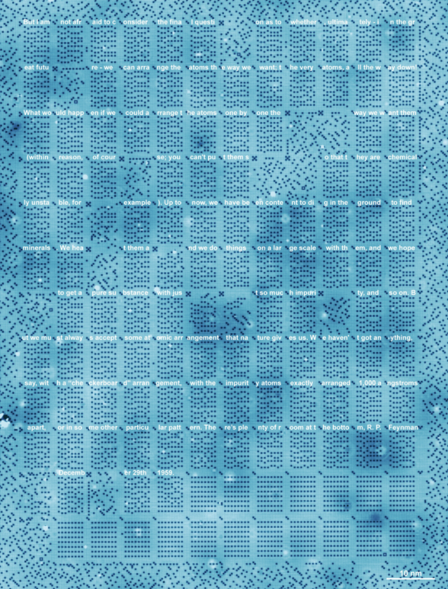 Image: Atomic-scale data storage
