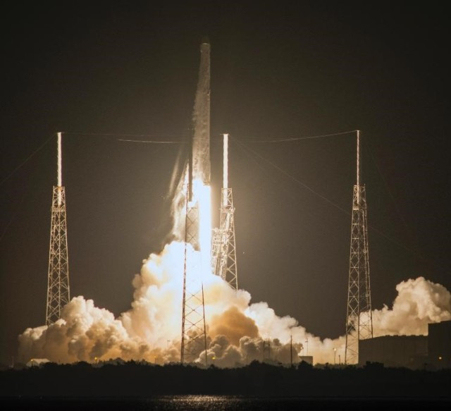 Image: SpaceX launch