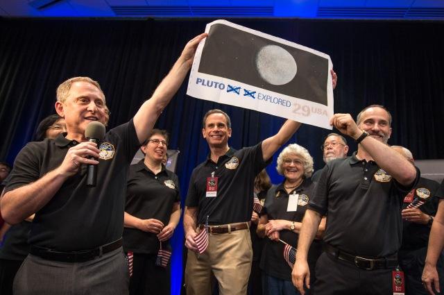 Image: Pluto stamp