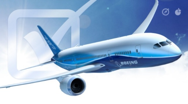Image: Boeing airplane