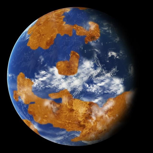 Image: Watery Venus