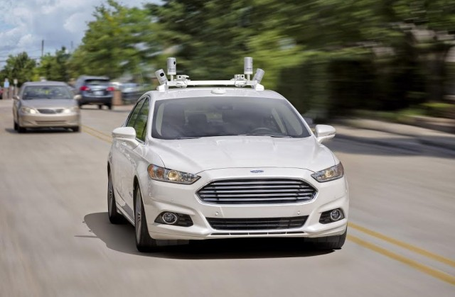 Image: Ford autonomous car
