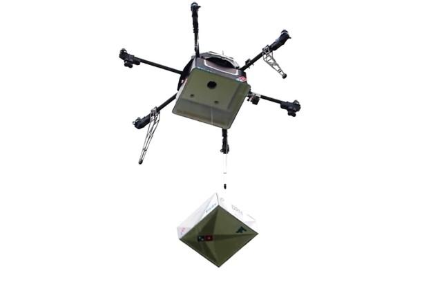 Image: Pizza drone