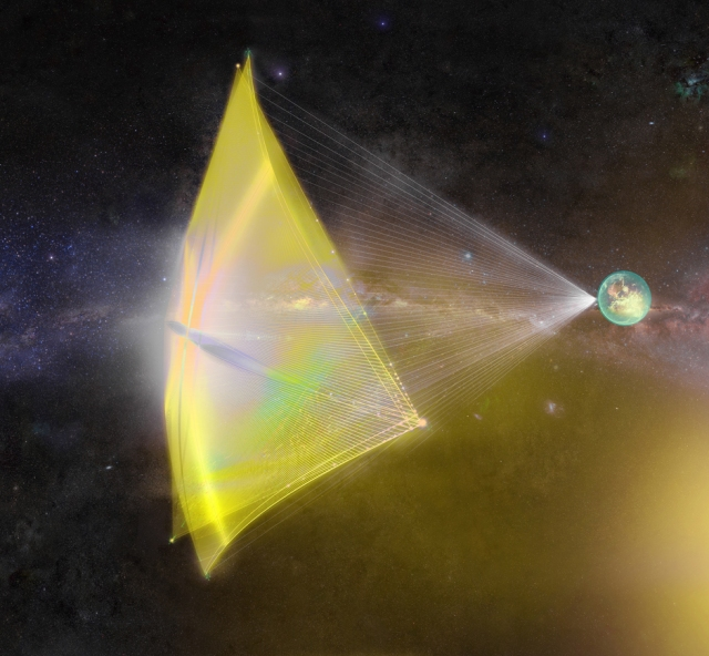 Image: Starshot nano-probe
