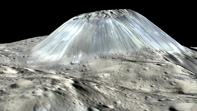 Image: Ceres' Ahuna Mons