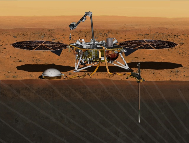 Image: InSight lander