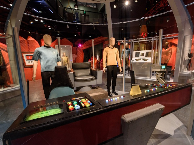 Image: Star Trek exhibit at EMP Museum