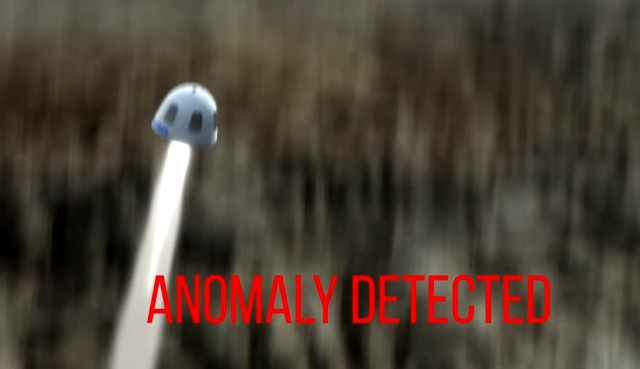 Image: Blue Origin anomaly