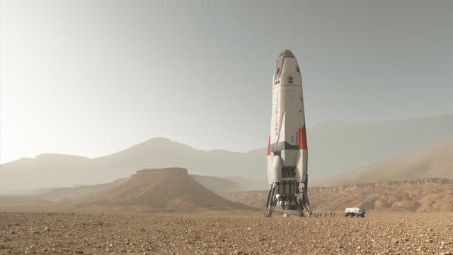 Image: Daedalus landing on Mars